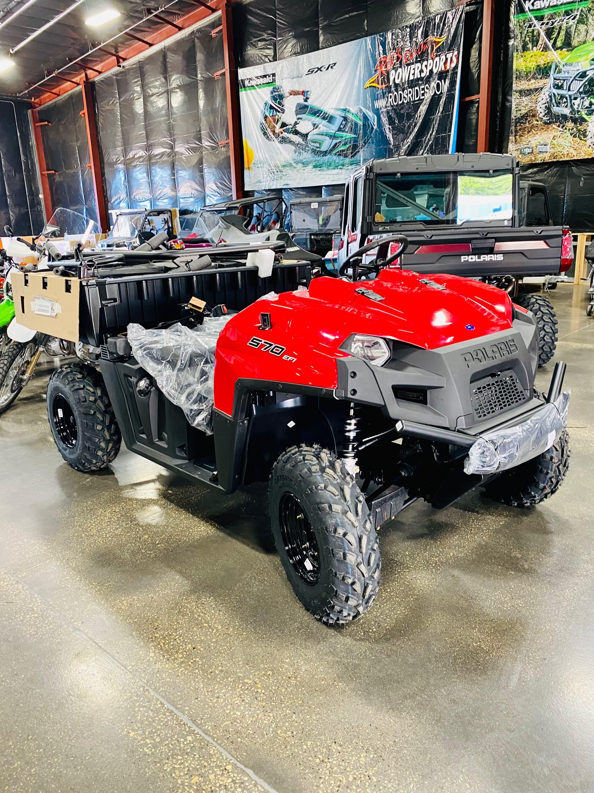 2022 Polaris Ranger 570 Full-Size Base at Rod's Ride On Powersports