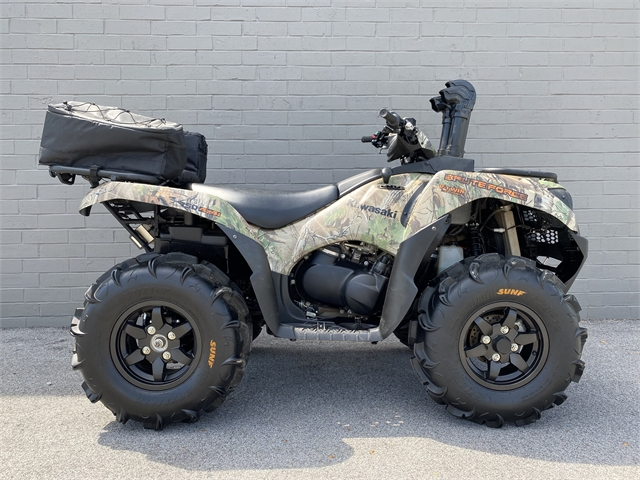2021 Kawasaki Brute Force 750 4x4i EPS Camo at cannonball harley-davidson