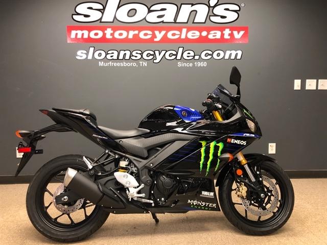 2020 Yamaha YZF R3 Monster Energy Yamaha MotoGP Edition at Sloans Motorcycle ATV, Murfreesboro, TN, 37129