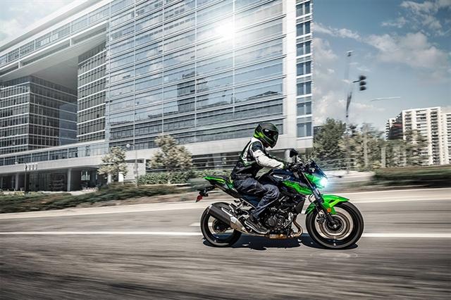 2019 Kawasaki Z400 ABS at Hebeler Sales & Service, Lockport, NY 14094
