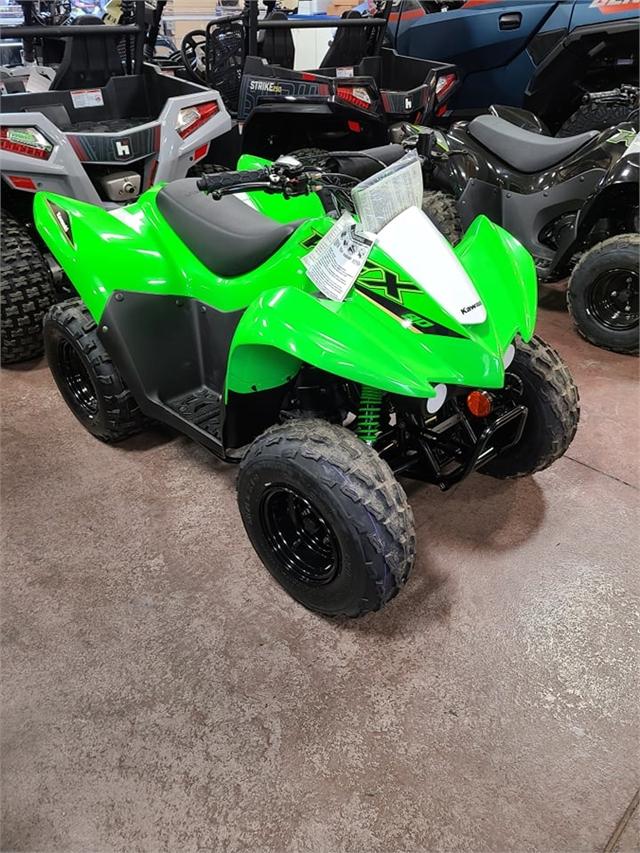 2022 Kawasaki KFX 90 at Action Cycles 'n Sleds