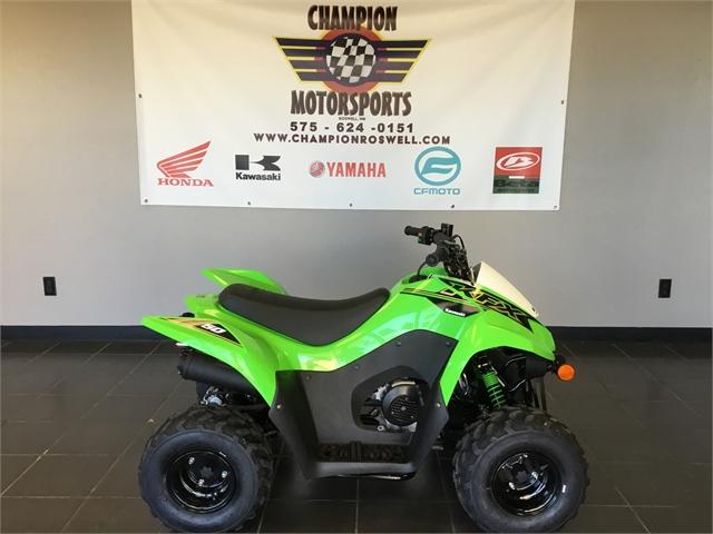 2021 Kawasaki KFX 50 at Champion Motorsports