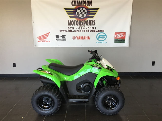 2021 Kawasaki KFX 90 at Champion Motorsports