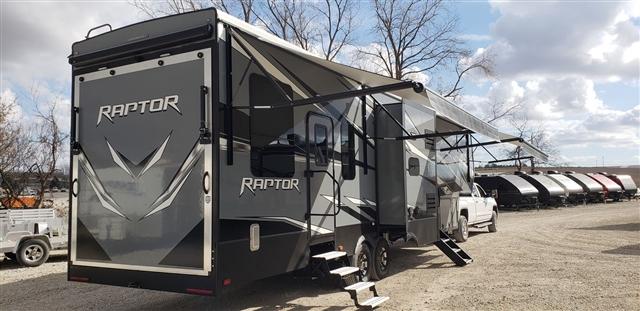 2019 Keystone Raptor 354 Toy Hauler at Nishna Valley Cycle, Atlantic, IA 50022