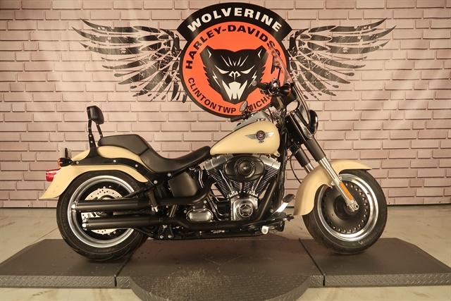 2014 Harley-Davidson Softail Fat Boy Lo at Wolverine Harley-Davidson