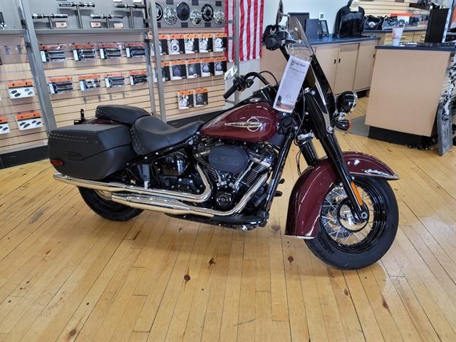 2020 Harley-Davidson Softail Heritage Classic 114 at Zips 45th Parallel Harley-Davidson