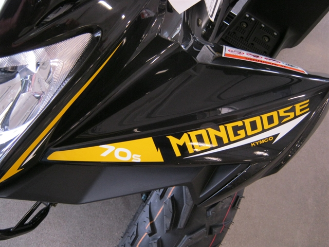 2021 Kymco Mongoose 70 S (Y6) at Brenny's Motorcycle Clinic, Bettendorf, IA 52722