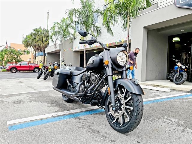 2020 Indian Springfield Dark Horse at Fort Lauderdale