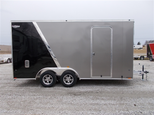 2020 Lightning Trailers LTFCH816TA2 Car Hauler at Nishna Valley Cycle, Atlantic, IA 50022