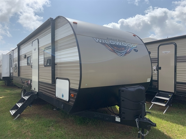 2019 Forest River Wildwood 26DBLE Bunk Beds at Campers RV Center, Shreveport, LA 71129