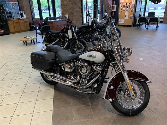 2021 Harley-Davidson Cruiser Heritage Classic at Great River Harley-Davidson