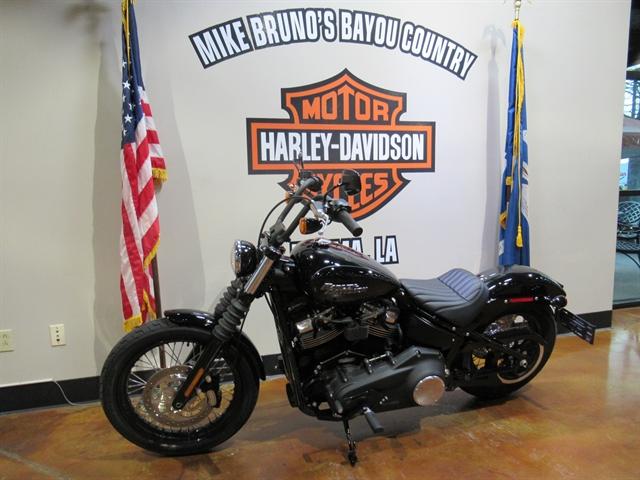 2019 Harley-Davidson Softail Street Bob at Mike Bruno's Bayou Country Harley-Davidson