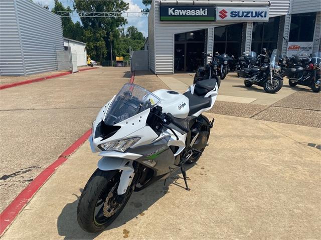 2021 Kawasaki Ninja ZX-6R Base at Shreveport Cycles