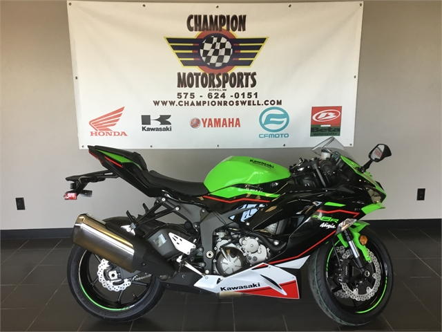 2021 Kawasaki Ninja ZX-6R ABS at Champion Motorsports