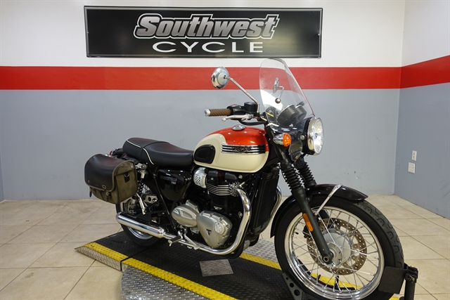 2018 TRIUMPH BONNEVILLE T-100 at Southwest Cycle, Cape Coral, FL 33909