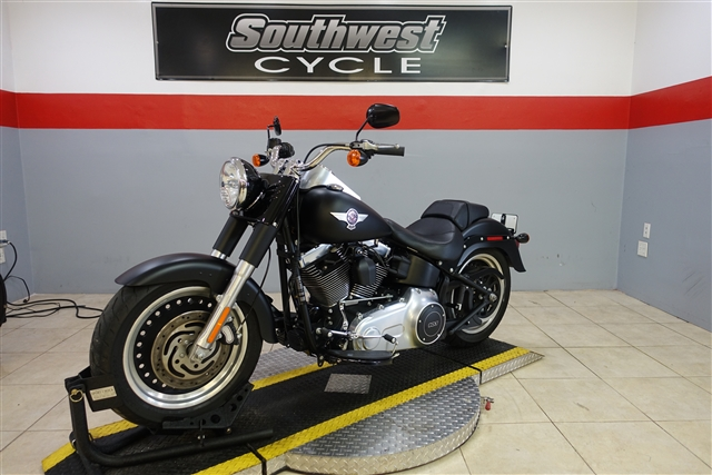 2012 Harley-Davidson Softail Fat Boy Lo at Southwest Cycle, Cape Coral, FL 33909