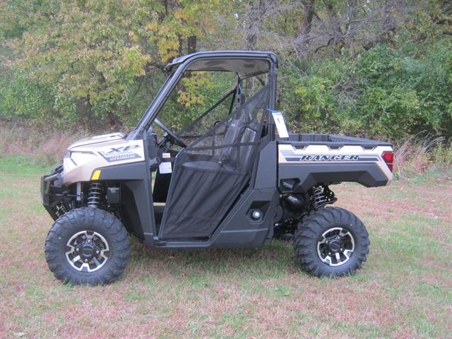 2020 Polaris Ranger XP 1000 Sand Metallic Premium at Brenny's Motorcycle Clinic, Bettendorf, IA 52722
