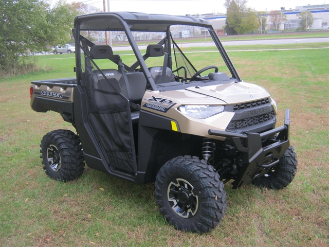2020 Polaris Ranger XP 1000 Sand Metallic Premium at Brenny's Motorcycle Clinic, Bettendorf, IA 52722