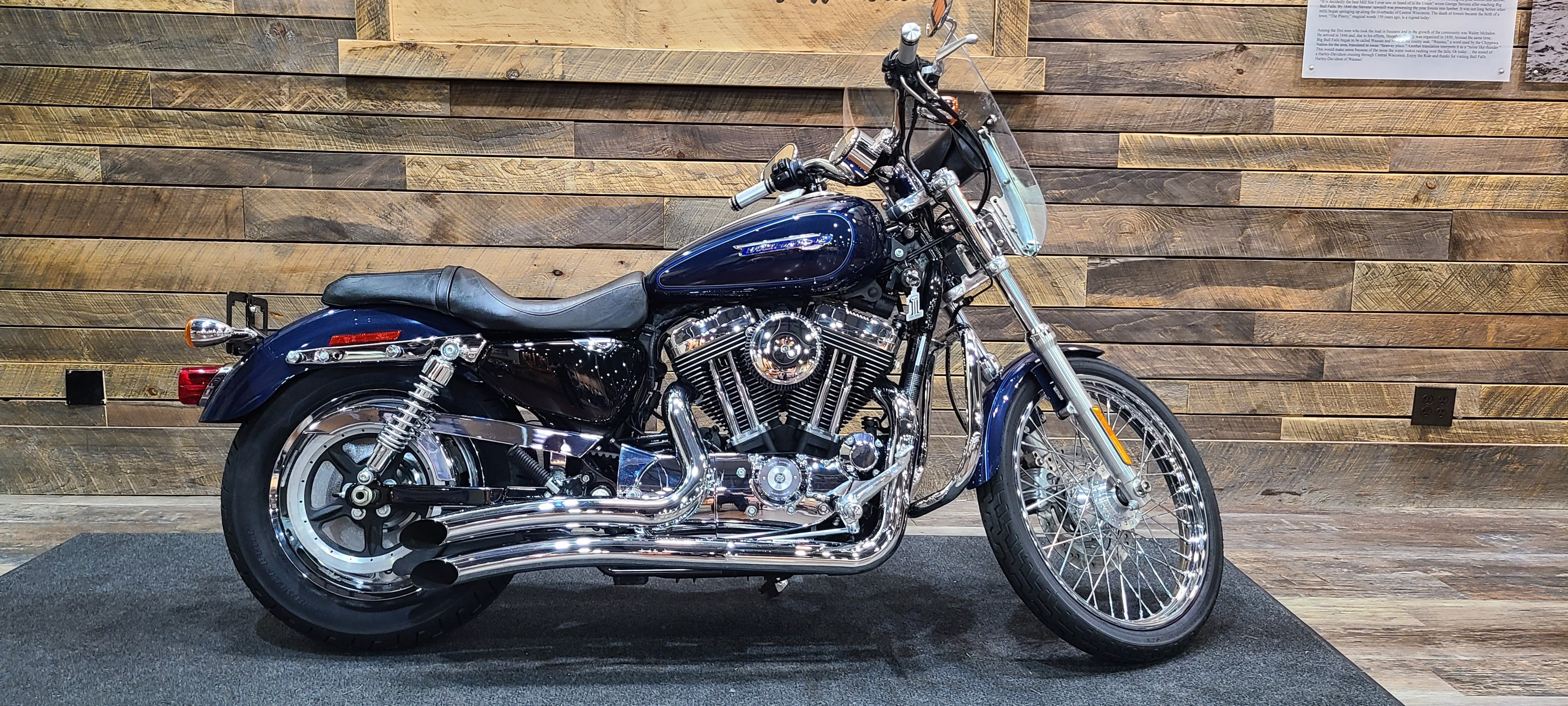 2009 Harley-Davidson Sportster 1200 Custom at Bull Falls Harley-Davidson