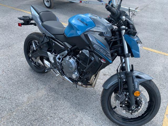 2019 Kawasaki Z650 ABS at Jacksonville Powersports, Jacksonville, FL 32225