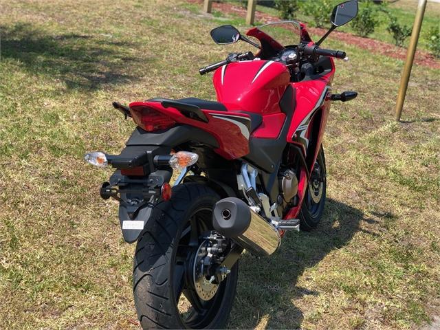 2021 Honda CBR300R Base at Powersports St. Augustine