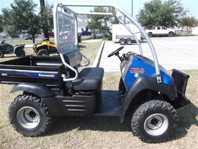 2011 Kawasaki Mule 610 4x4 XC at Kent Motorsports, New Braunfels, TX 78130