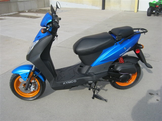 2019 Kymco Agility 50 Moped at Brenny's Motorcycle Clinic, Bettendorf, IA 52722