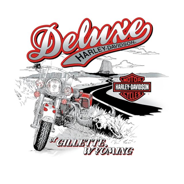 2021 T-Shirt Back Prints at Deluxe Harley Davidson