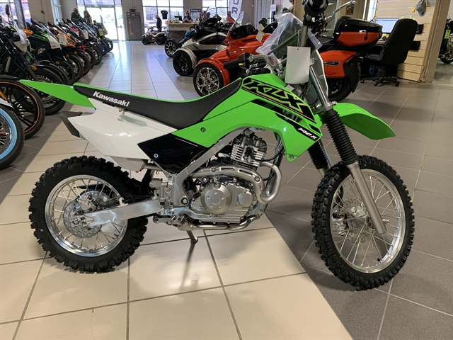 2021 Kawasaki KLX 140R at Star City Motor Sports