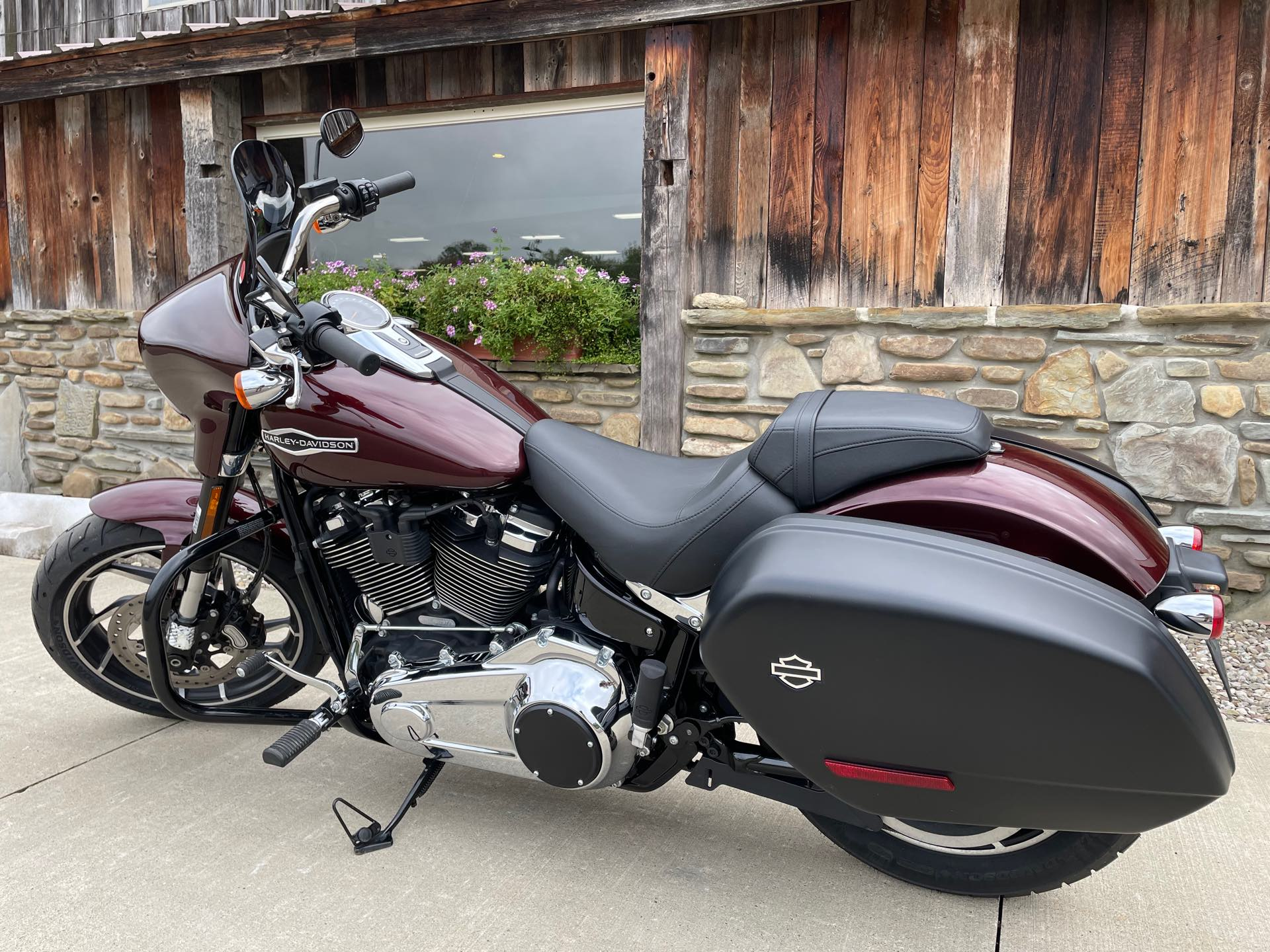 2018 Harley-Davidson Softail Sport Glide at Arkport Cycles