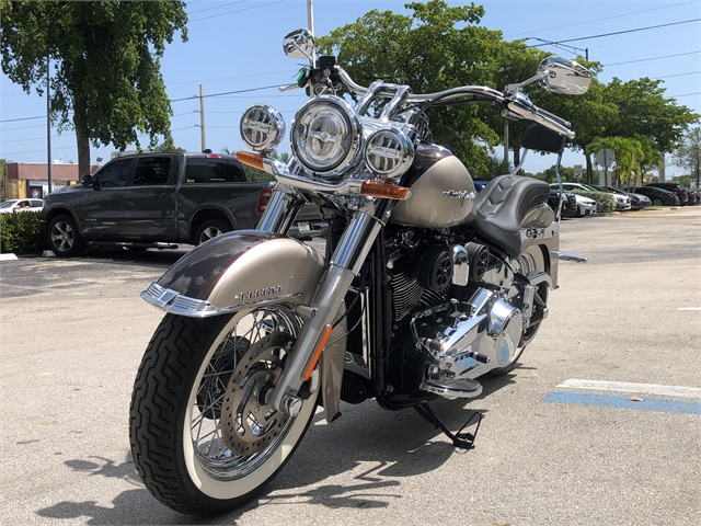 2018 Harley-Davidson Softail Deluxe at Fort Lauderdale