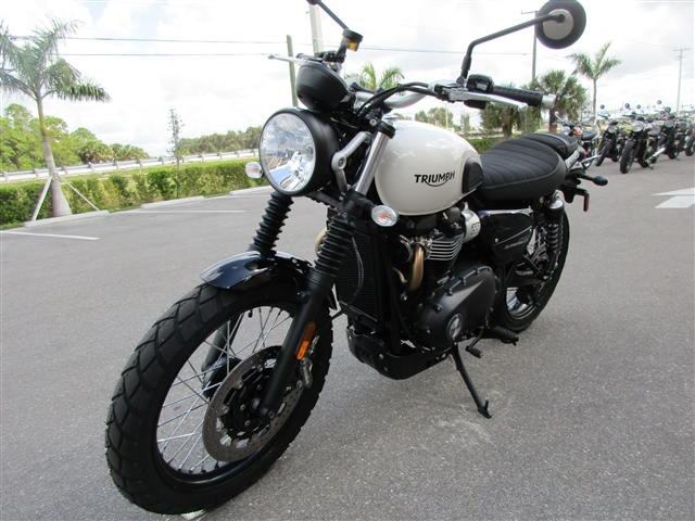 2019 Triumph Street Scrambler Base at Fort Myers