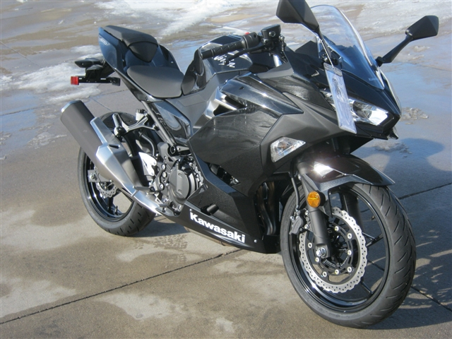 2019 Kawasaki Ninja 400 Base at Brenny's Motorcycle Clinic, Bettendorf, IA 52722