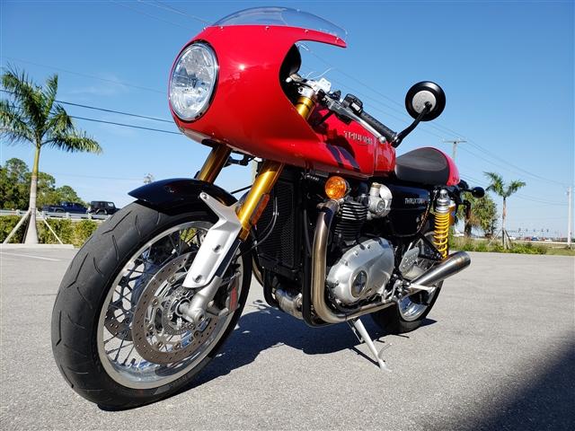 2017 Triumph Thruxton 1200 R 1200 R at Stu's Motorcycles, Fort Myers, FL 33912