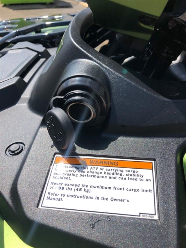 2020 Honda RUBICON 520 4X4 AUTO DLX 4x4 Automatic DCT EPS at Genthe Honda Powersports, Southgate, MI 48195