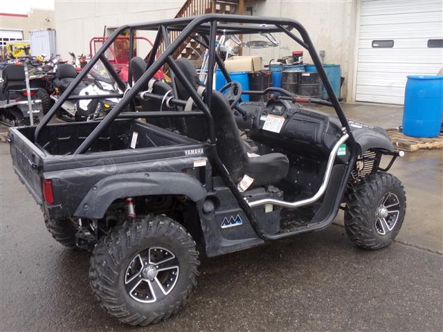 2008 Yamaha Rhino 700 FI Auto 4x4 SE Midnight Armor $131/month at Power World Sports, Granby, CO 80446