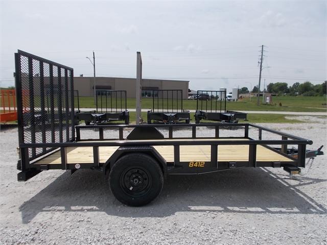 2021 Doolittle Trailers PREMIER PIPE-TOP 840 Series Single Axle 3K at Nishna Valley Cycle, Atlantic, IA 50022