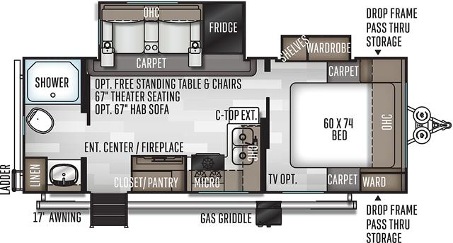 2021 Forest River Rockwood Mini Lite 2511S at Campers RV Center, Shreveport, LA 71129