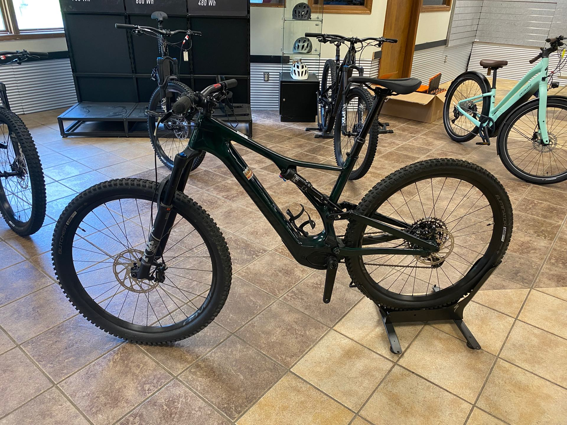 2021 Specialized Turbo E Bikes Levo SL Comp Carbon at Gold Star Outdoors