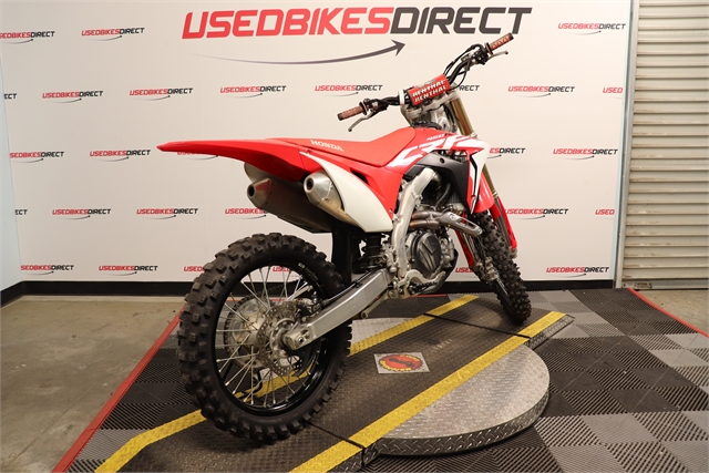 2019 Honda CRF 450R at Used Bikes Direct