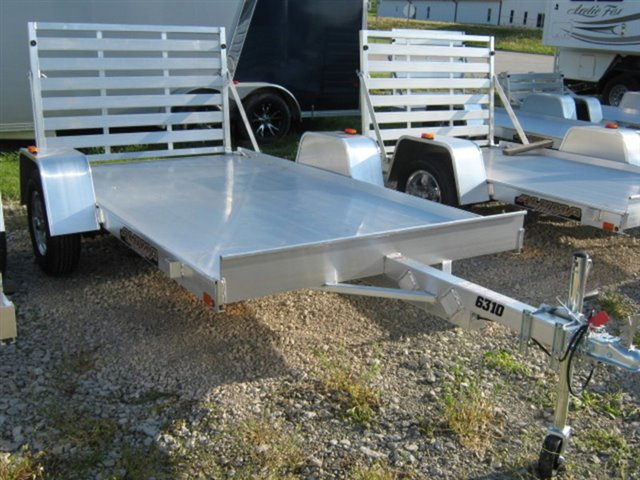 2020 Aluma 6310LW Single Axle Utility Trailer at Nishna Valley Cycle, Atlantic, IA 50022