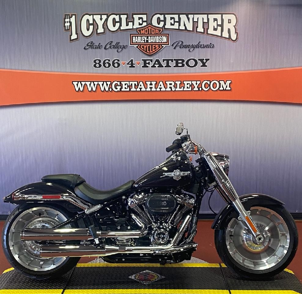 2021 Harley-Davidson Cruiser FLFBS Fat Boy 114 at #1 Cycle Center Harley-Davidson