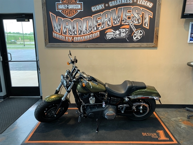 2016 Harley-Davidson Dyna Fat Bob at Vandervest Harley-Davidson, Green Bay, WI 54303