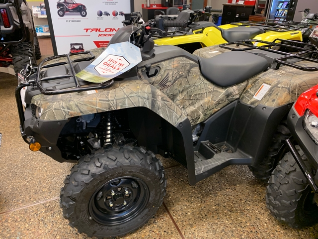 2019 Honda FourTrax Rancher 4X4 ES at Mungenast Motorsports, St. Louis, MO 63123