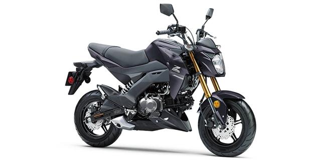 2020 Kawasaki Z125 PRO Base at Hebeler Sales & Service, Lockport, NY 14094