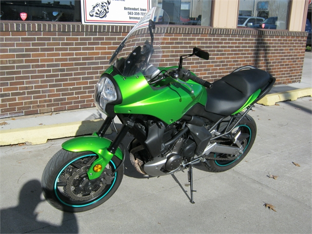2009 Kawasaki KLE650 Versys at Brenny's Motorcycle Clinic, Bettendorf, IA 52722