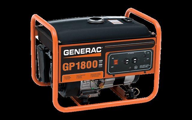 2016 GENERAC Portable Generators GP Series GP1800 at Harsh Outdoors, Eaton, CO 80615