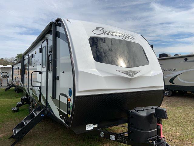 2019 Forest River Surveyor 250FKS Front Kitchen at Campers RV Center, Shreveport, LA 71129
