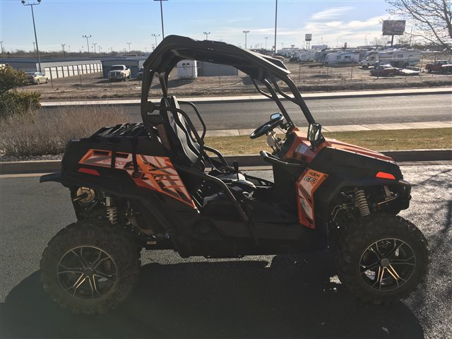 2017 CFMOTO ZFORCE 800 EX EPS at Champion Motorsports, Roswell, NM 88201