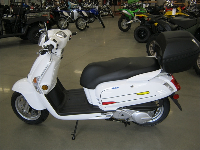 2020 KYMCO Like 200i Limited Edition at Brenny's Motorcycle Clinic, Bettendorf, IA 52722